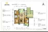 B户型-3室2厅2卫-144.0㎡