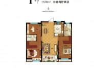 I户型-3室2厅2卫-128.0㎡