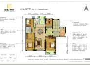 K户型-4室2厅2卫-180.0㎡